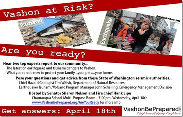 Vashon at Risk Poster