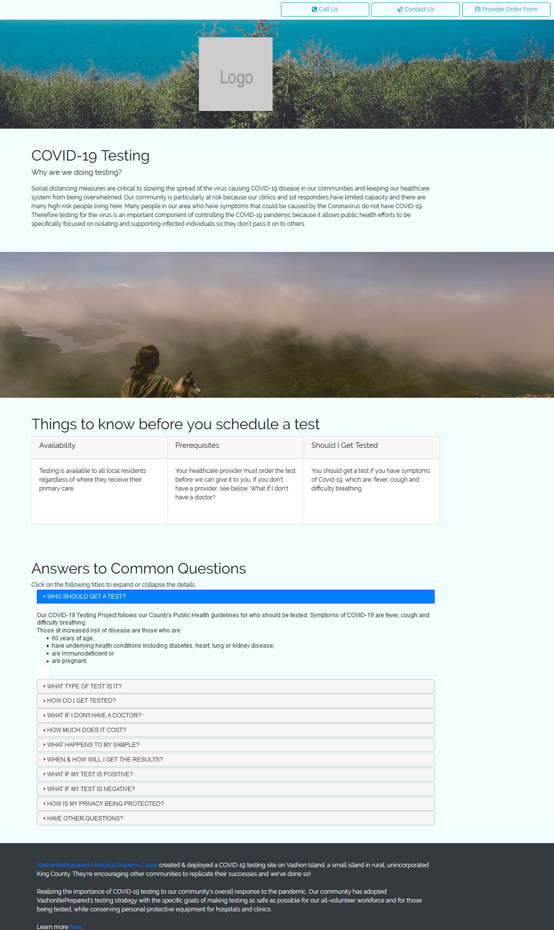 Webpage Template from EOC Online