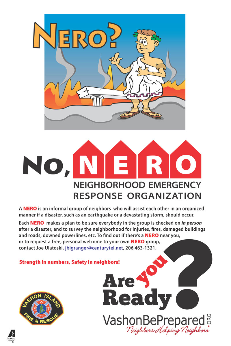 NERO - Neighborhood Emergency Response Organization
